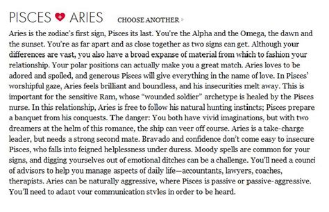 quotes about pisces and aries quotesgram