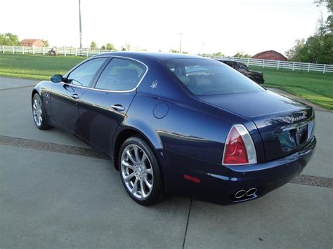 maserati 4 door sports car 2006 maserati quattro porte 4 door sedan 157383