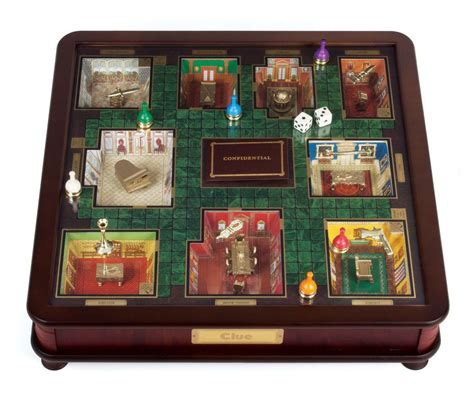 Aristeia Limited Edition Board clue museum luxury wood collectors edition classic board
