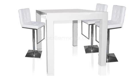 table haute de cuisine avec tabouret tabouret de table haute