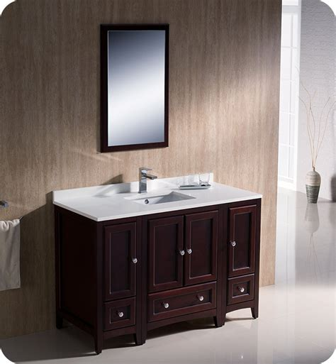 Traditional Bathroom Vanities And Cabinets by Fresca Fvn20 122412mh Oxford 48 Quot Traditional Bathroom