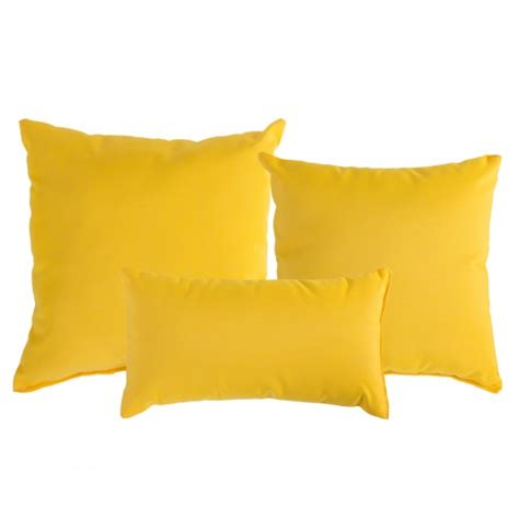 Yellow And Throw Pillows by Sunflower Yellow Sunbrella Outdoor Throw Pillow Dfohome