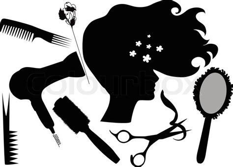 Friseur Peine Quot Fashionable Hairdress The Hairdresser The Hair Dryer A