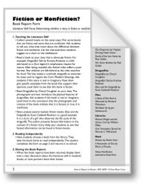 Book Report Parent Letter Book Report On Book Reports Book Report Projects And Parent Letters