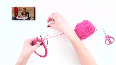 how to knit with circular needles without joining knitting help joining in the