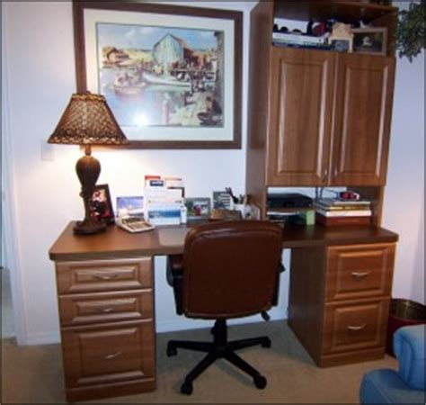 how to make custom home office furniture