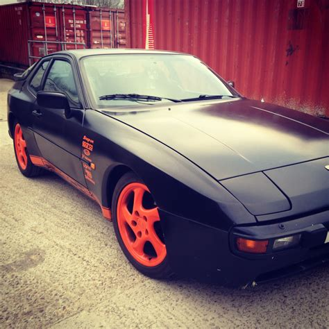 porsche 944 black retro restorer 1983 porsche 944 in black
