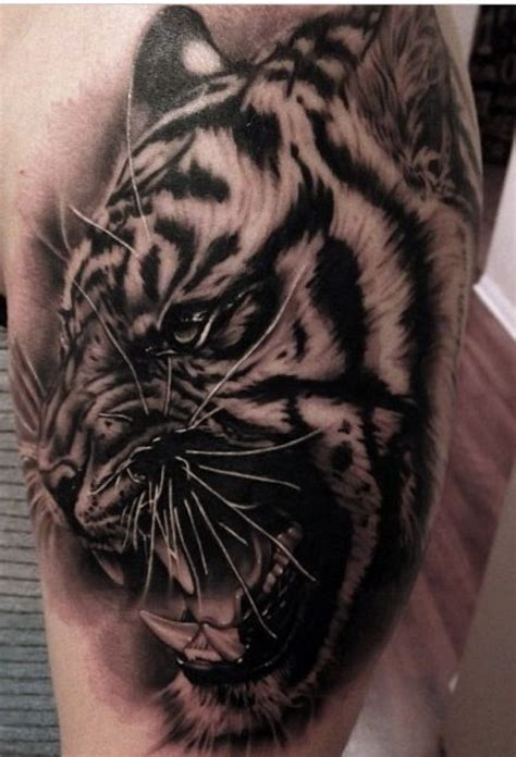 traditional tattoo black and grey amazing design concepts black and grey tiger