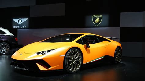 The Newest Lamborghini The New Lamborghini Huracan Performante The Car