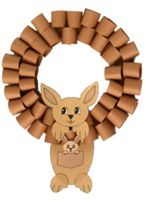 australian animals wreath