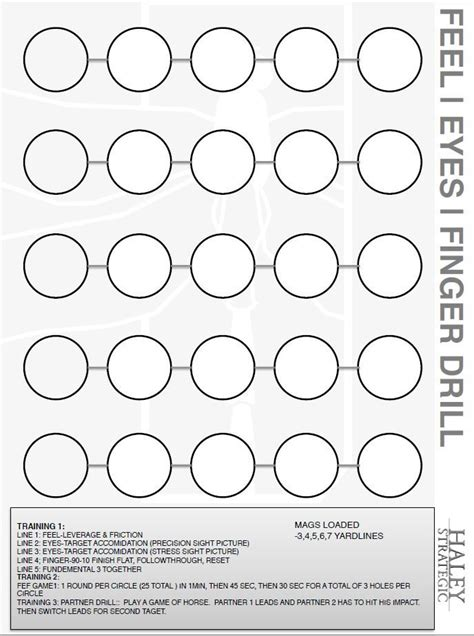 printable shooting drill targets 155 best images about shooting targets on pinterest