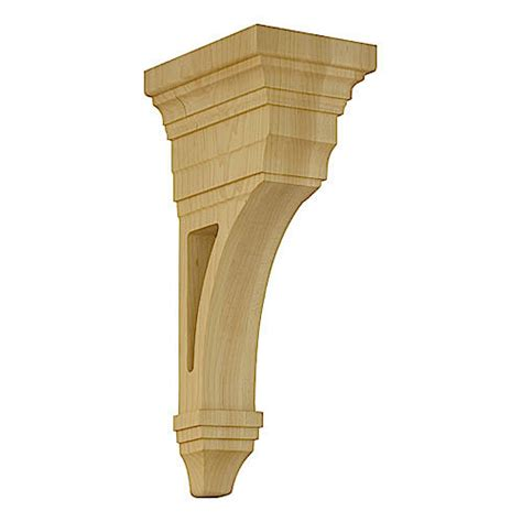 Wood Corbel Patterns Designs Of Distinction Arts Crafts Open Corbel
