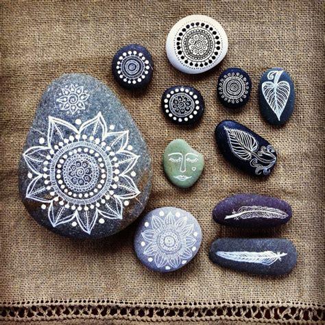 originelle wandlen steine bemalen 40 ideen f 252 r originelles basteln mit steinen