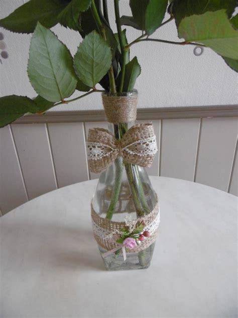 faire un vase avec une bouteille de vin les p tites