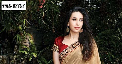 Dress Shj 179 beige net designer saree with contrast blouse
