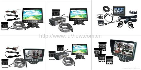 surveillance system with 7 quot stand alone monitor and