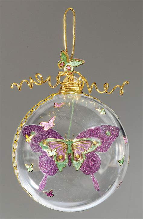 butterfly ornaments butterfly ornament