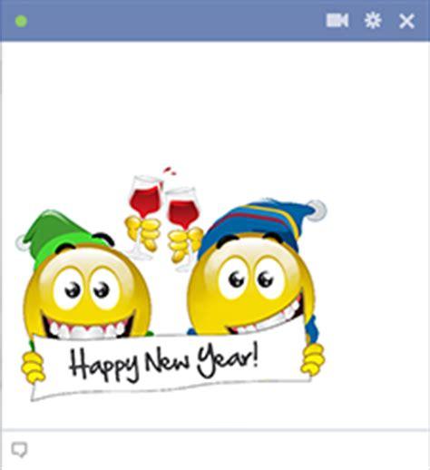 new year emoticon happy new year smileys symbols emoticons