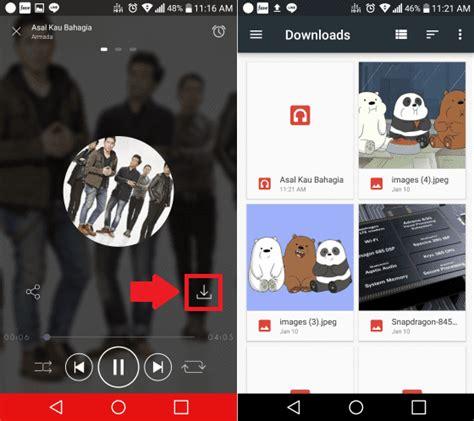 cara download film di hp android mudah dan gratis cara download lagu di hp android mudah dan gratis