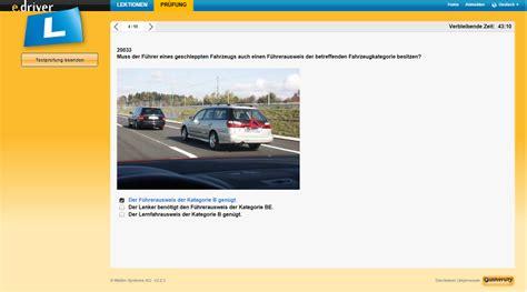 Auto Pr Fungsfragen by E Driver Aktuelle Originalfragen Der Theoriepr 252 Fung Auto