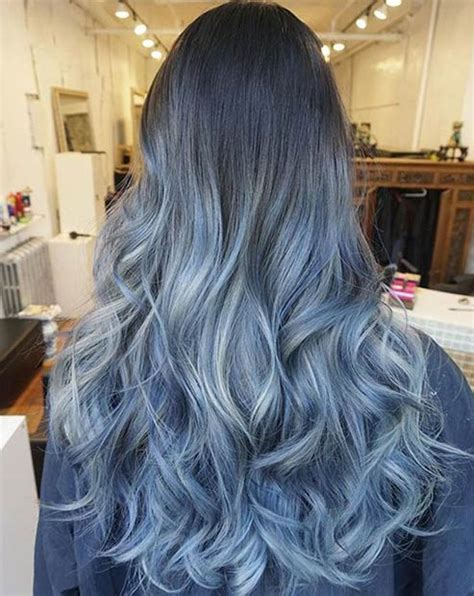 ombre hair color for kids 21 bold and beautiful blue ombre hair color ideas stayglam