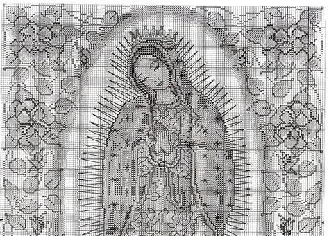 imagenes de virgen de guadalupe en punto cruz imagenes virgen de guadalupe en punto de cruz imagui