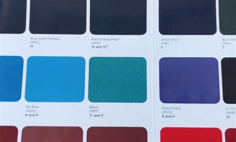2019 Jeep Paint Colors by 2019 Jeep Wrangler Jl Color Swatches Shows New