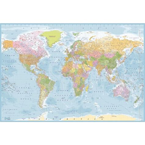 world map wallpaper murals 1 wall blue world map atlas wallpaper mural 1 58m x 2 32m