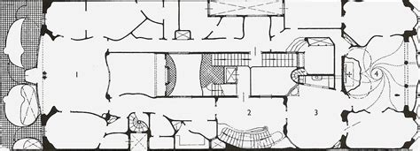 casa batllo floor plan late 19 c architecture at arnold o beckman high school