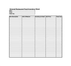 kitchen manual template restaurant inventory template 22 free word excel