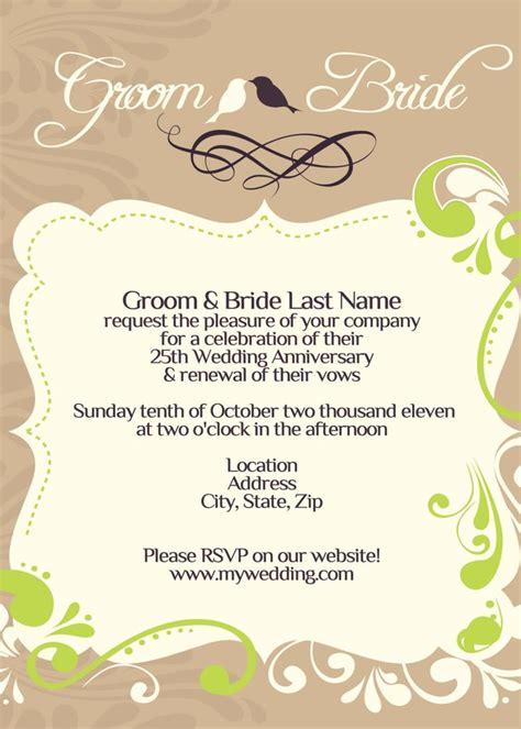wedding vow renewal invitation ideas 108 best images about wedding renewal invitations on