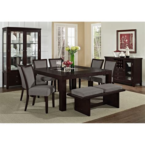 Gray Dining Room Table Grey Dining Room Chairs Decofurnish