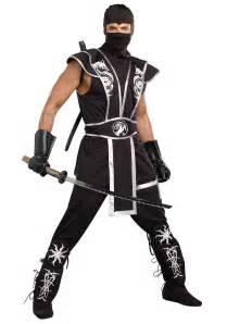 ninja costume adults halloween blades of death men s ninja costume