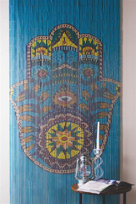beaded curtains for closets walls doorways or just anywhere these painted door