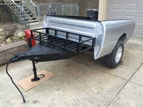 pickup bed trailer off road truck bed trailer body work youtube