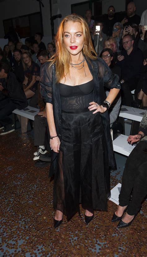 Lohan Nip Slip by Lindsay Lohan Slip 20 Photos Thefappening