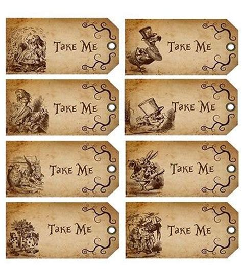 alice in wonderland tags template in tags template iranport pw