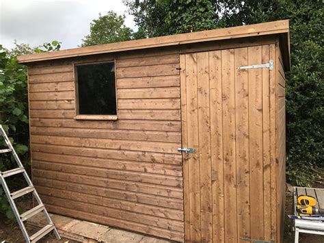 Shed Pent by Pent Garden Shed West Midlands Singletons Nurseries