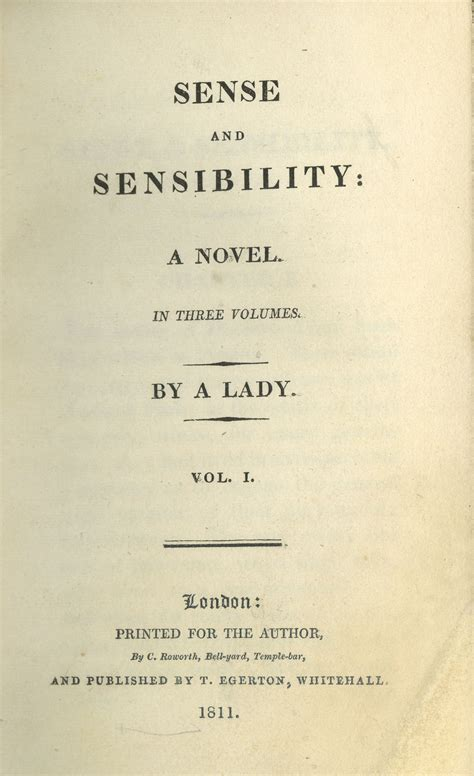 three classic novels sense sense and sensibility by jane austen read book online for free