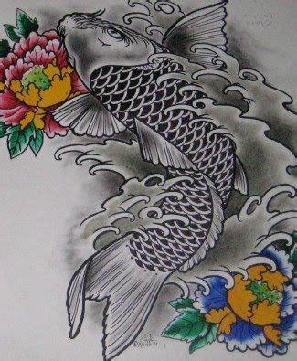 dragon koi fish koi fish dragon tattoo meaning asian