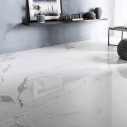 carrelage sol et mur blanc effet marbre rimini l 60 x l