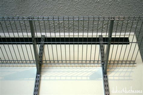 Rubbermaid Fasttrack Shelf by Garage Makeover Dukes And Duchesses