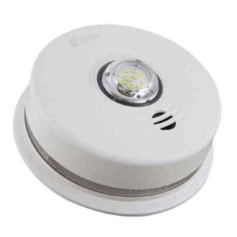strobe light smoke alarms kidde p4010acledsca 120v ac integrated smoke alarm with