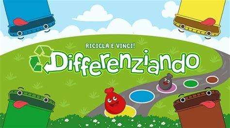 giochi da tavola per bambini gioco per bambini sulla raccolta differenziata non sprecare