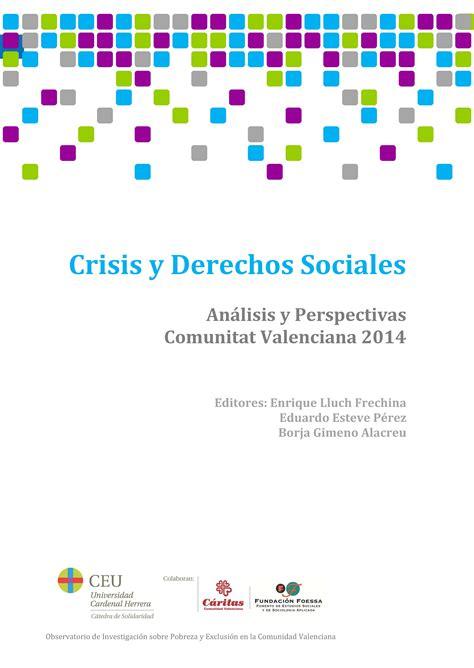 informe foessa 2013 desigualdad y derechos sociales pobreza en la comunidad valenciana el blog de enrique