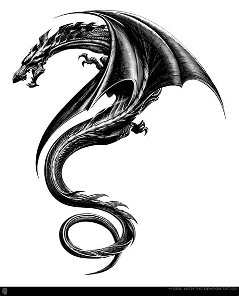 simple dragon tattoo designs
