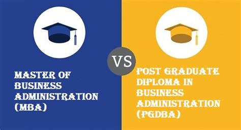Difference Between An Mba And Masters by Difference Between Mba Pgdba All Hub