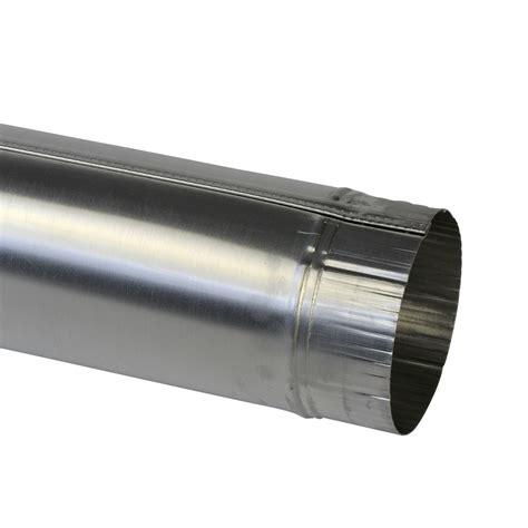 afvoerbuis afzuigkap karwei pijp aluminium 110 mm x 100 cm luchtafvoerbuizen