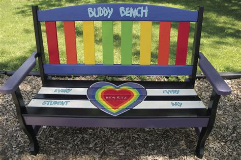 the buddy bench newark teachers students create buddy benches news