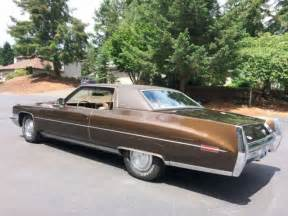 1972 Cadillac Coupe Sale No Reserve 1972 Cadillac Coupe Driver Solid